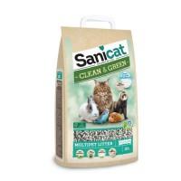 SANICAT Litiere cellulose compostable et recyclable - Pour chat
