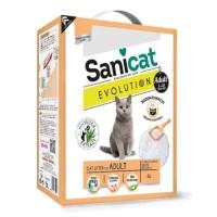 SANICAT Litiere Evolution Adult 6L - Pour chat adulte