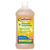 SANITERPEN Détergent Surpuissant - Nettoyant manuel ou haute pression - Pour l'habitat - 1 L