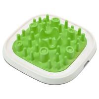 SAVIC Mangeoire éducative Enigma L - Vert - Pour chat et chien