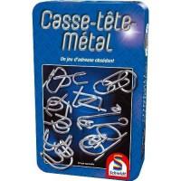 SCHMIDT AND SPIELE Jeu de poche - Casse-tete-métal