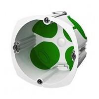 SCHNEIDER ELECTRIC Boîte simple avec systeme étanche Ø 67 mm vert