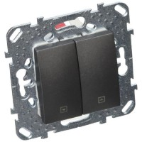 SCHNEIDER ELECTRIC Interrupteur variateur Unicatop graphite