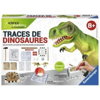 SCIENCE X RAVENSBURGER Midi Traces de Dinosaures Jeu Educatif