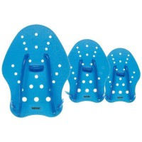 SEAC Hand Paddle - Entrainement piscine et mer - Bleu - L