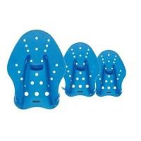 SEAC Hand Paddle - Entrainement piscine et mer - Bleu - M