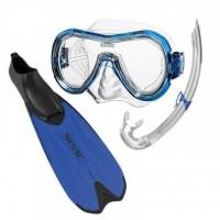 SEAC Kit de plongée et Snorkeling Spinta - Adulte - Bleu