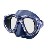 SEAC Masque de plongée One Kama - Silicone - Bleu - Haute définition