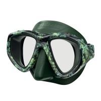 SEAC Masque de plongée One Kama - Silicone - Vert - Haute définition