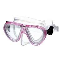 SEAC Masque de Plongée Procida Silter Clear - Junior/Enfant - Rose