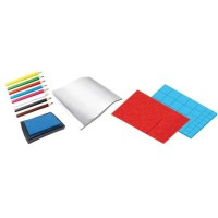 SES CREATIVE Kit de tampons - Emoticônes