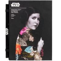 Set cahier + crayon Star Wars: Princess Leia.