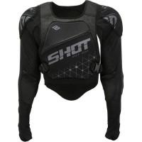 SHOT Gilet de protection ultralight - Noir