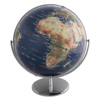 SIGN Globe politique non lumineux Ø 30 cm - Bleu