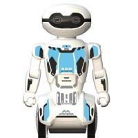 SILVERLIT - Macrobot - Robot Humanoide radiocommandé - Blanc & Bleu