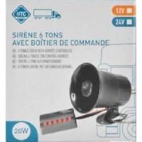 Sirene 6 tons - 12V