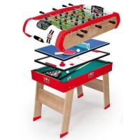 SMOBY Powerplay: Billard Babyfoot Palais Ping Pong