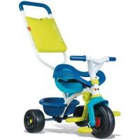 SMOBY Tricycle Enfant Evolutif Be Fun Confort Bleu