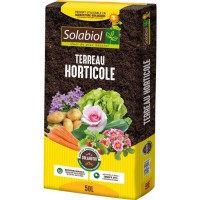 SOLABIOL - Terreau Horticole - Sac 50 L - UAB