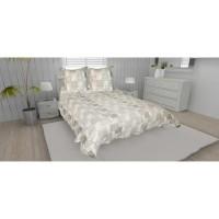 SOLEIL D'OCRE Couvre-lit boutis matelassé NIMES avec 2 taies d'oreiller - 220x240 cm