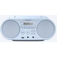 SONY ZSPS50W - Boombox CD USB - AM-FM - Blanc