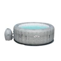 Spa rond gonflable - 6 places - Volume d'eau 80% 916 L -Matériau TRITEC ,imitation cuir