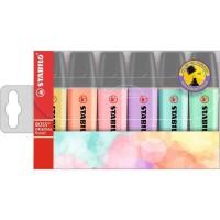 STABILO 6 surligneurs BOSS ORIGINAL Pastel