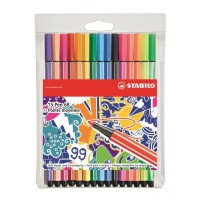 """STABILO 15 stylos-feutres """"Individual just like you"""" - Point 68"""