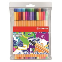 """STABILO 30 stylos-feutres """"Individual just like you"""" - Point 88"""
