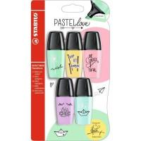 STABILO 5 mini surligneurs BOSS MiniPastellove