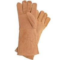 STANLEY 460404 Gants de protection de soudure en cuir de chevre et de bovin