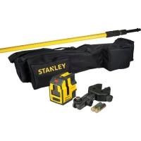 STANLEY- KIT Niveau laser croix + équérage- STHT1-77147