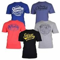 STANLEY Lot de 5 T-shirts Fargo - Mixte - 180 gsm