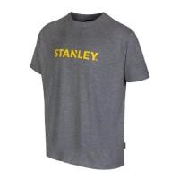 STANLEY T-shirt Lyon 100% coton - Mixte - Gris
