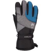 STARLING Gants de Ski Adulte - Noir et Bleu