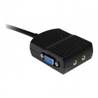 STARTECH Répartiteur vidéo VGA a 2 ports avec audio - Splitter VGA alimenté par USB - Doubleur VGA