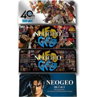 Stickers Personnages 4 pieces Neo Geo Mini
