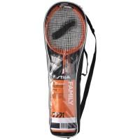 STIGA Set de badminton Family Fs - Rouge et noir
