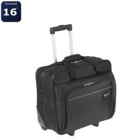 TARGUS Sacoche a roulettes pour ordinateur portable Executive 15,6 pouces - Noir