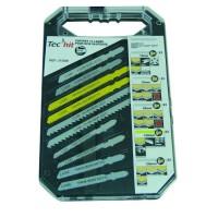 TEC HIT Coffret 10 lames scie sauteuse Bosch - AEG - Makita - Metabo - Hitachi