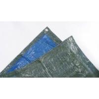 TECHIT Bâche légere spéciale stere de bois 68g/m² - 2 x 8m