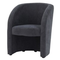 TED Fauteuil SORO Gris anthracite