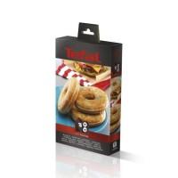 TEFAL Accessoires XA801612 Lot de 2 plaques bagels Snack Collection
