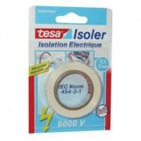 TESA Ruban Adhésif Isolation électrique - 10m x 15mm - Blanc