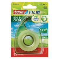 TESA 1 dérouleur ecoLogo + 1 ruban tesafilm ECO & CLEAR - 33mm x 19mm