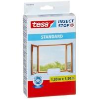 TESA Moustiquaire Standard pour fenetre - 1,3 m x 1,5 mm - Blanc