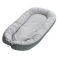 TINEO Réducteur de lit évolutif - Idéal pour les premieres nuits de bébé - Réglable et réversible - Confortable