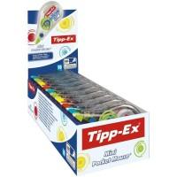 Tipp-Ex Mini Pocket Mouse Rubans Correcteurs 6 m x 5 mm - Couleurs Tendance Assorties, Boîte de 10