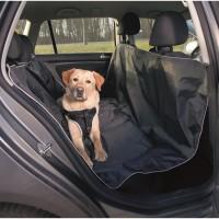 TRIXIE Couverture pour sieges de voiture - 1,45x1,60 m - Noir - Pour chien