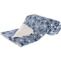 TRIXIE Couverture Tammy 100 × 70 cm - Bleu et beige - Pour chien
